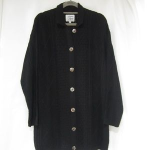 Margaret O'Leary M L Fall Long Cardigan Duster